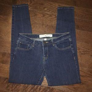 Ashley Mason Dark Denim Skinny Jeans